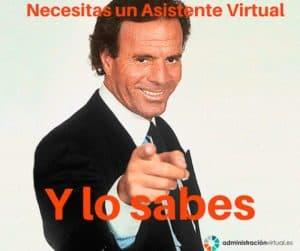 necesitas un asistente virtual y lo sabes