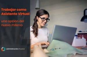 trabajar asistente virtual