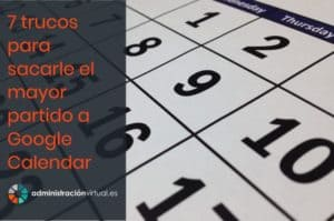 trucos de Google Calendar